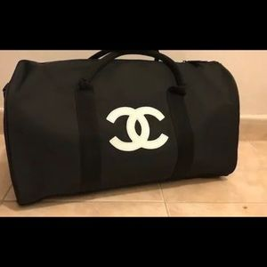 Chanel VIP gift Canvas Gym Tote! New! Authentic